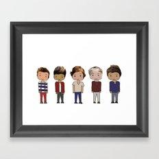 One Direction Framed Art Print