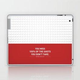 Lab No. 4 - Wayne Gretzky Hockey Player Quotes Poster Laptop & iPad Skin