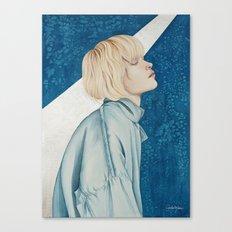 Blue Jeans Canvas Print