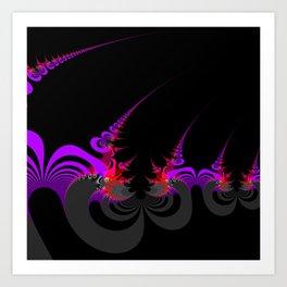 Tetration Horns Art Print