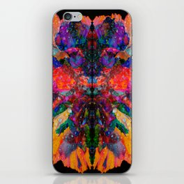 Dew Drop Rainbow Flower iPhone Skin