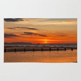Sunset Seascape Rug
