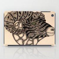 ram iPad Cases featuring Ram by justforspiteandmalicedesigns