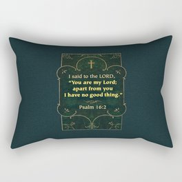 Apart from You Rectangular Pillow