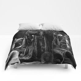 V. The Hierophant Tarot Card Illustration  Comforters