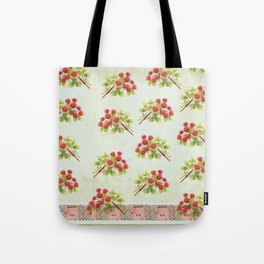 Muddled Raspberries Tote Bag