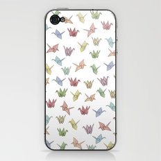 Origami Cranes iPhone & iPod Skin