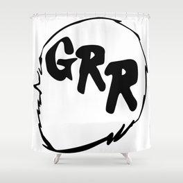 Grr Shower Curtain