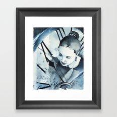 L'Inconnue de XXI siècle Framed Art Print