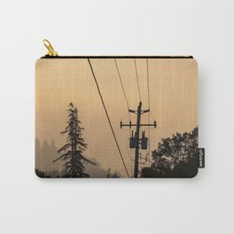Yellow Mountain Haze Carry-All Pouch