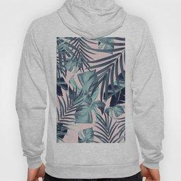 Tropical Jungle Leaves Pattern #8 #tropical #decor #art #society6 Hoody