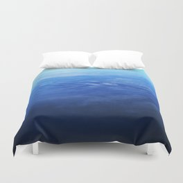 Ombre Arial Duvet Cover