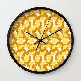 Spicy & Yellow Mustard Comparison Wall Clock