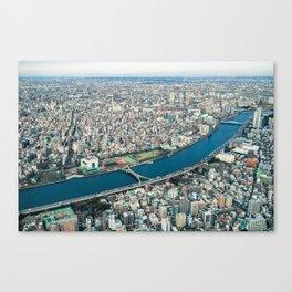 Tokyo Cityscape 05 Canvas Print