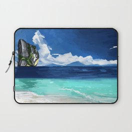 Beach Landscape Laptop Sleeve