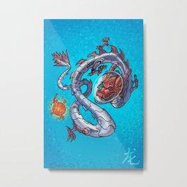 Astro Zodiac Force 05: Dragon Metal Print