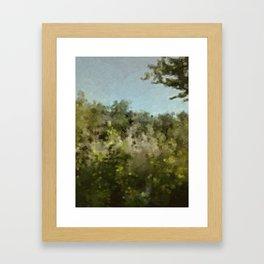 Maine quarry Framed Art Print