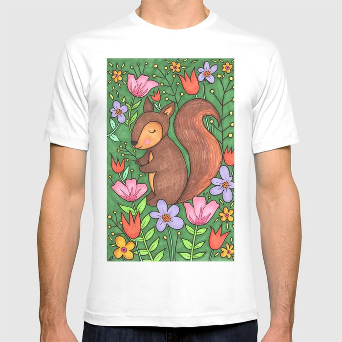 Spring Squirrel T-shirt