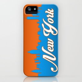New York Classic City iPhone Case
