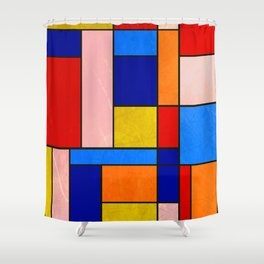 Abstract #904 Shower Curtain
