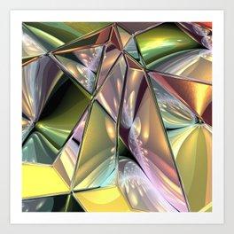 fractal design -73- Art Print