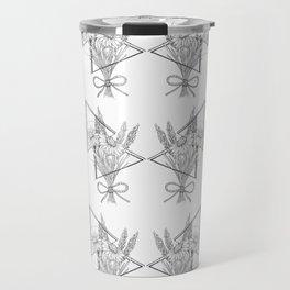 Daisies and Lavender Travel Mug