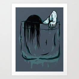 Pocket Samara Art Print