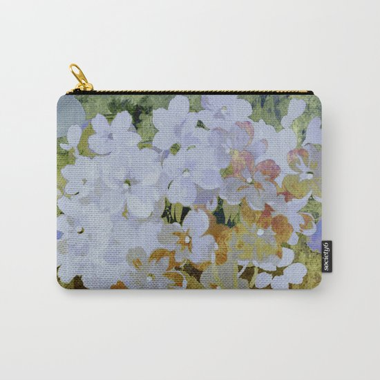 hydrangea and textures Carry-All Pouch