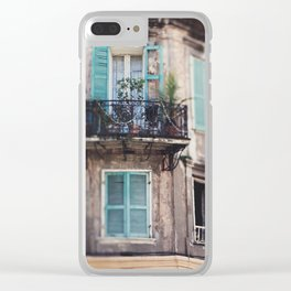 New Orleans - Close Your Eyes and Dream Clear iPhone Case