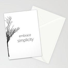 Embrace Simplicity Stationery Cards