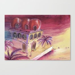 San Cataldo Church - Kid design Canvas Print