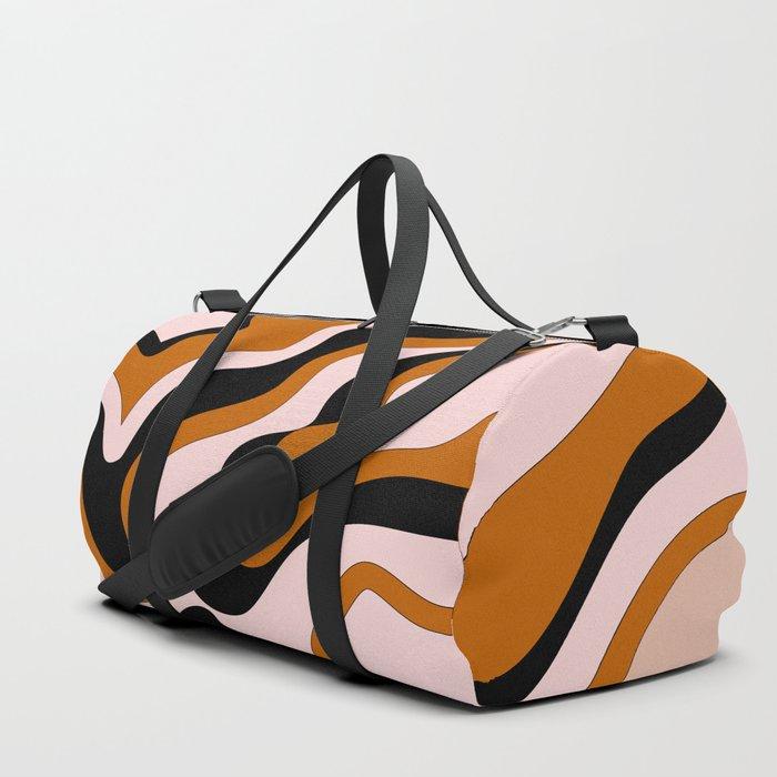 Beautiful Journey - Caramel and Cream Duffle Bag