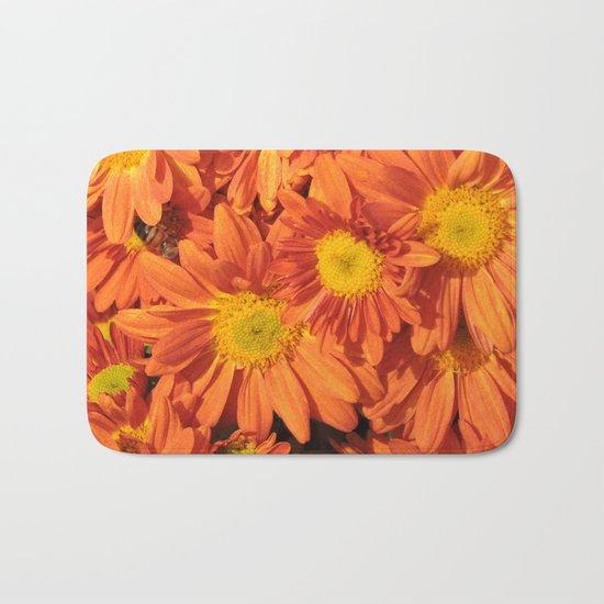 Petals a L'orange Bath Mat