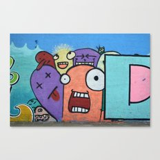 Graffiti guys Canvas Print