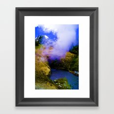 Dragon's Breath Framed Art Print