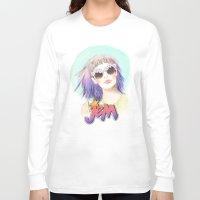hologram Long Sleeve T-shirts featuring J.E.M.✭✭✭✭✭ by Sara Eshak