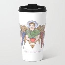 Supernatural Guardian Angels Metal Travel Mug