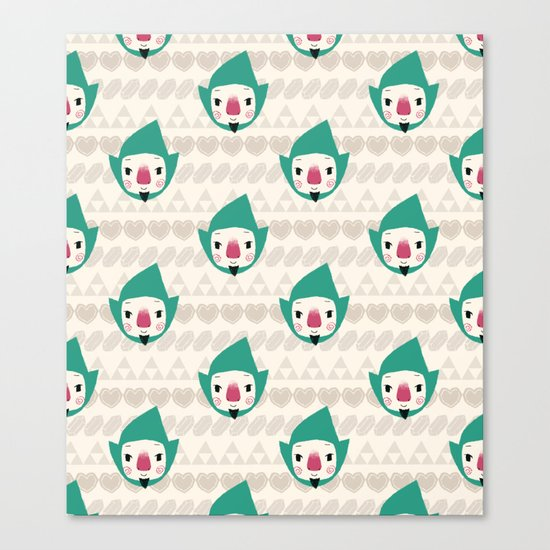 Tingle pattern Canvas Print