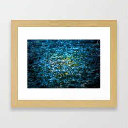 Water Color - Yellow Framed Art Print
