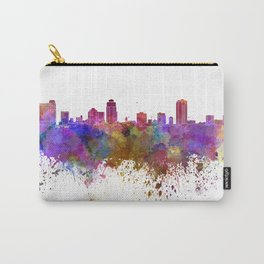 St Petersburg skyline in watercolor background Carry-All Pouch