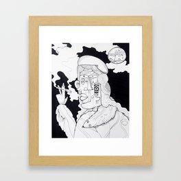 Rich Woman 2 Framed Art Print