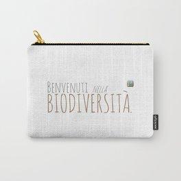 Benvenuti nella Biodiversità. Carry-All Pouch