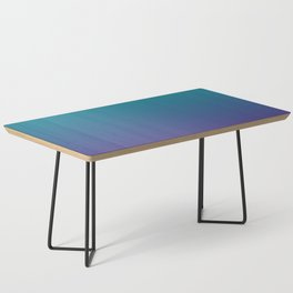 Ombre | Teal and Purple Coffee Table