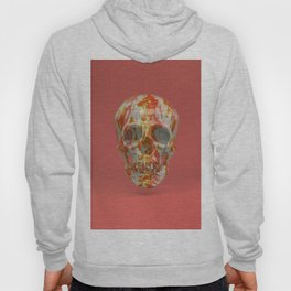 Red Candy Skull Hoody