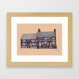 'Suffolk' House print Framed Art Print