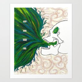 expulsion pt. II Art Print