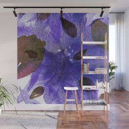 Watercolor Purple Mirage Wall Mural