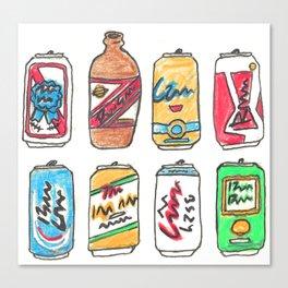 Beer Test Canvas Print