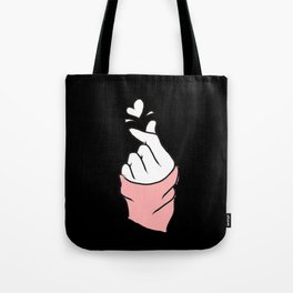 Twice fingerHeart Tote Bag