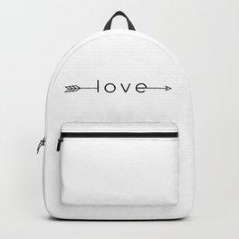 LOVE arrow Backpack